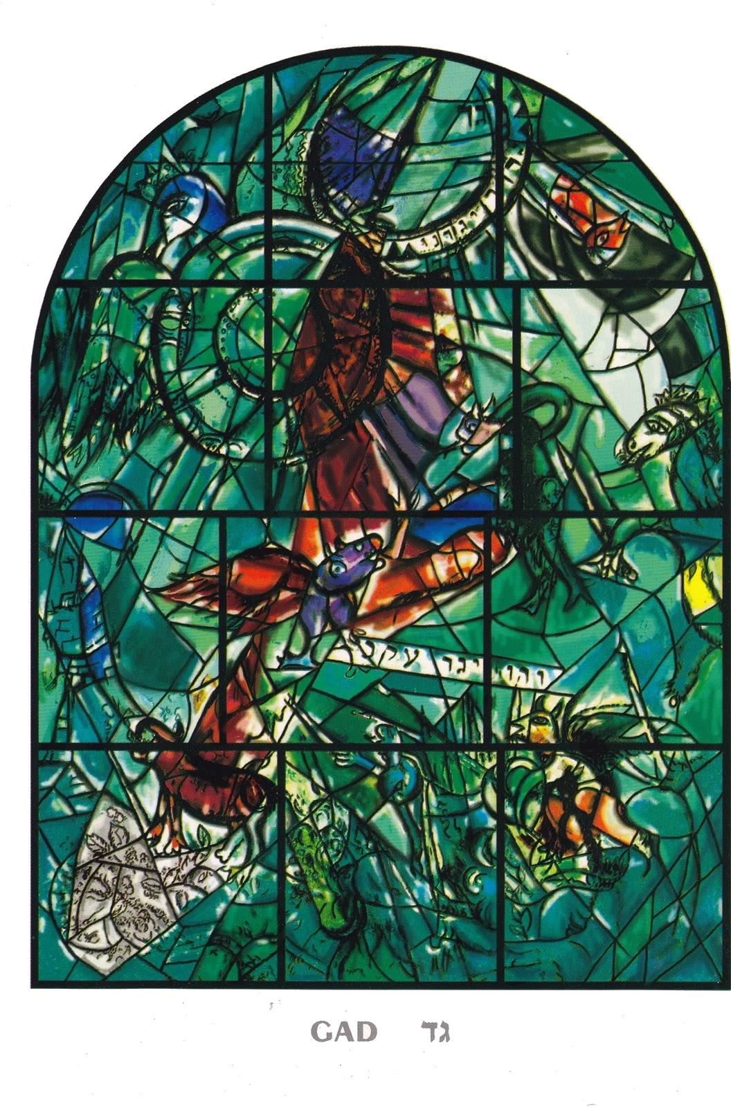 Marc Chagall, voyage biblique en Terre Sainte