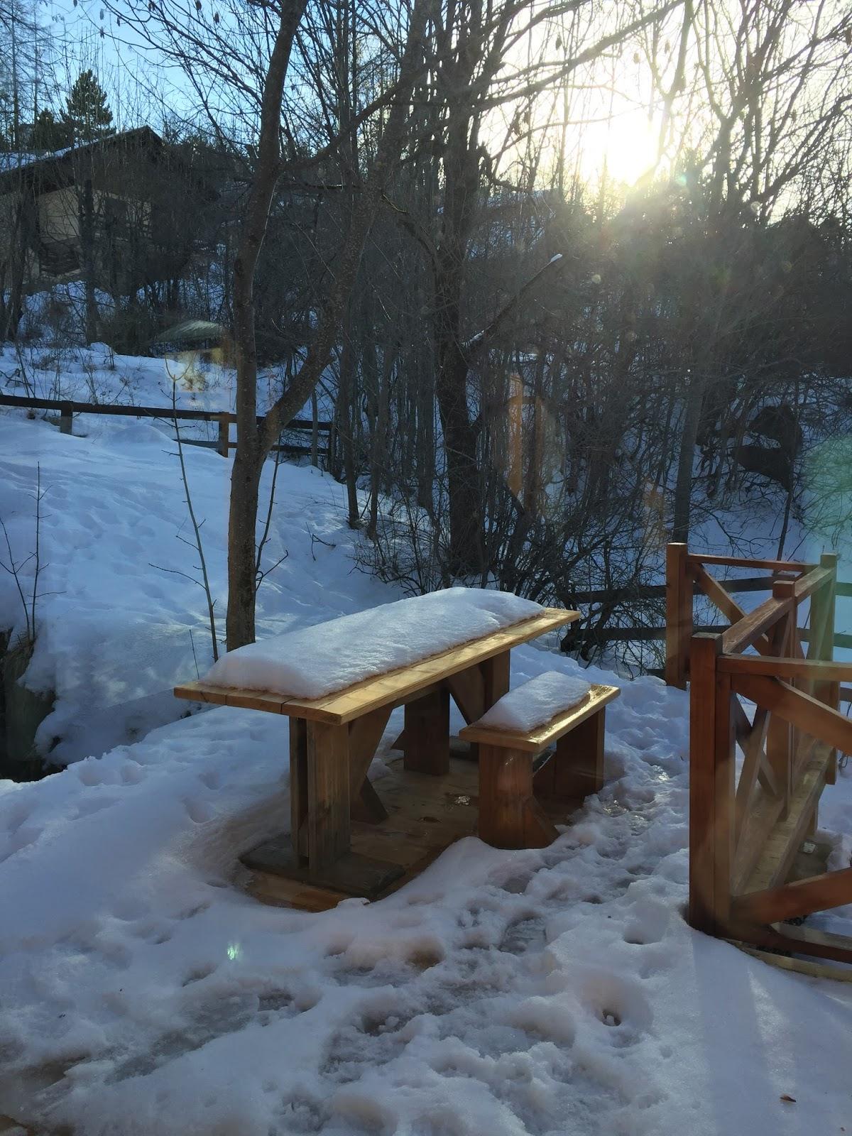 En famille à Allos dans un magnifique chalet en bois…