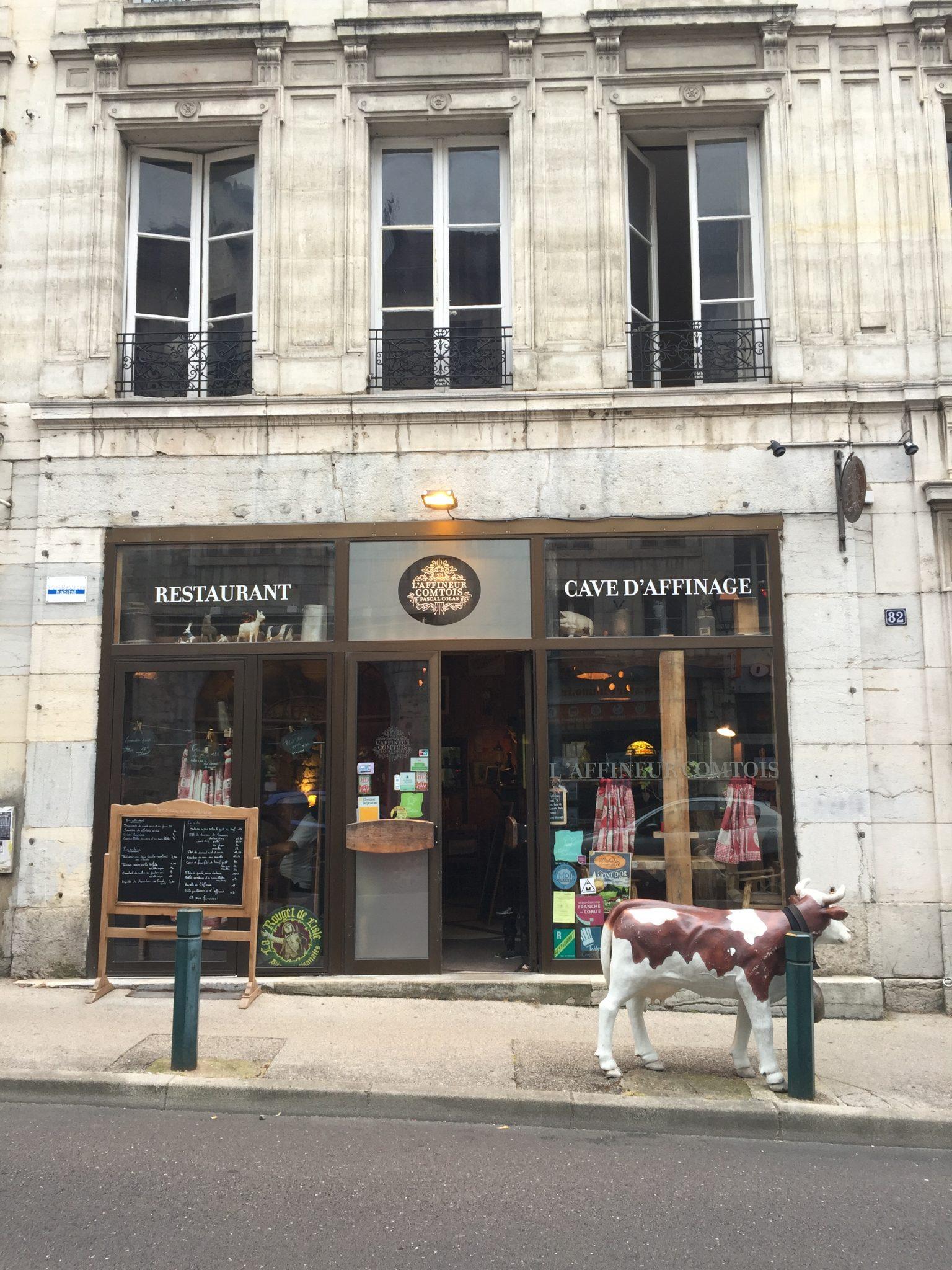 Besançon, entre architecture & cuisine franc-comtoise